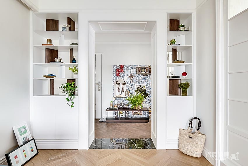 法式小清新 85平雅致两居室
