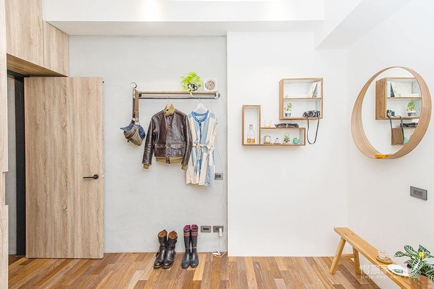 58平小居室,化身颜值收纳兼备的工业风图_15