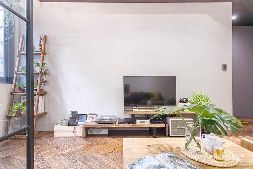 58平小居室,化身颜值收纳兼备的工业风图_14