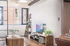 58平小居室,化身颜值收纳兼备的工业风图_3