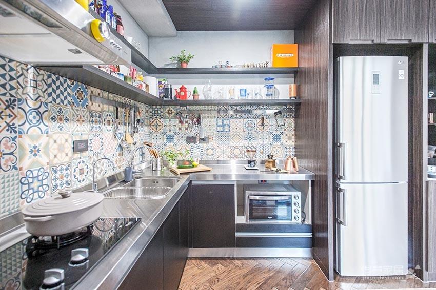 58平小居室,化身颜值收纳兼备的工业风图_6