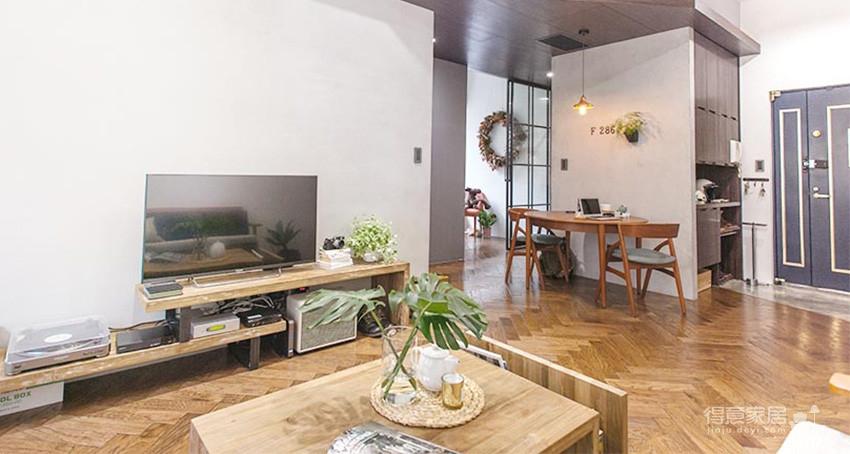 58平小居室,化身颜值收纳兼备的工业风图_13