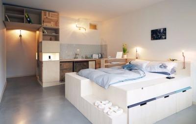 告别蜗居小空间的公寓设计