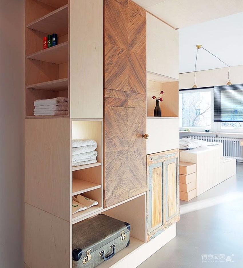 告别蜗居小空间的公寓设计图_4