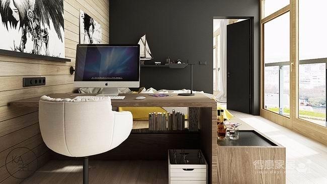 公寓玩味色彩强化质感图_10