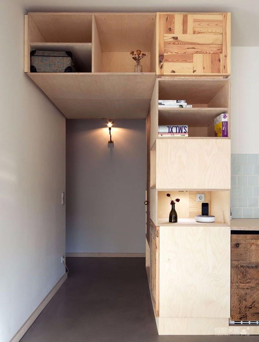 告别蜗居小空间的公寓设计图_5