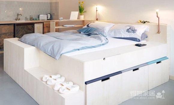 告别蜗居小空间的公寓设计图_2