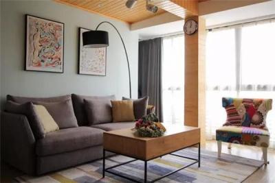 75㎡两室北欧风,简单朴素才是生活的原貌!