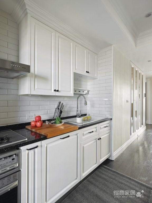 美式混搭新居 通过软装的搭配让整体层次分明