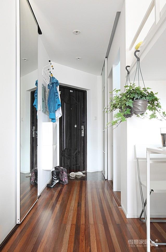 1室1厅50平米清新风格