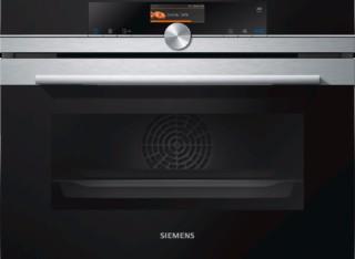 CS656GBS1W: 西门子蒸汽烤箱,集蒸箱和烤箱于一体,操作更便捷,激发你的烹饪灵感。