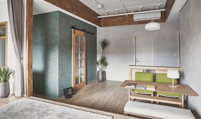 68平日式风小家,色彩美丽家具质感!