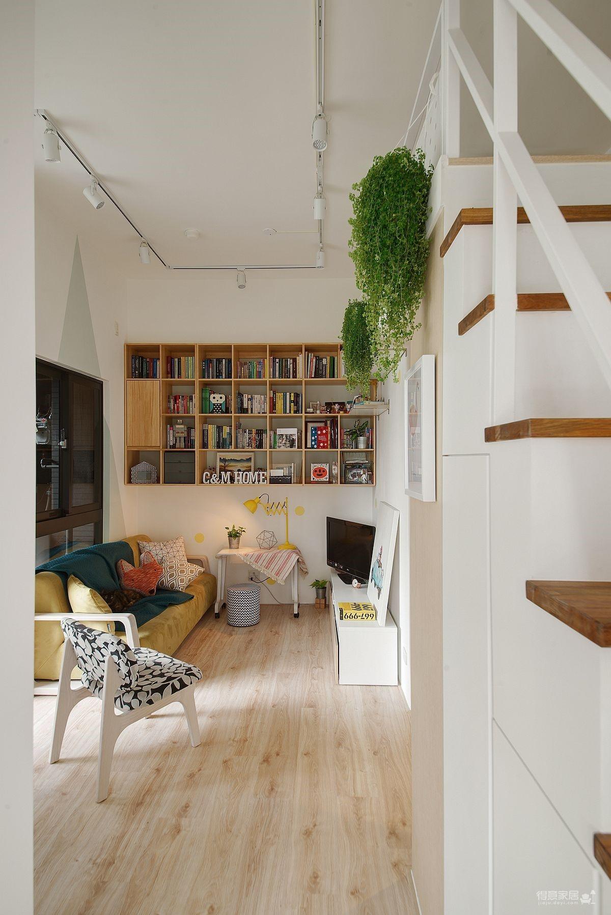 50平米小公寓 清新简约
