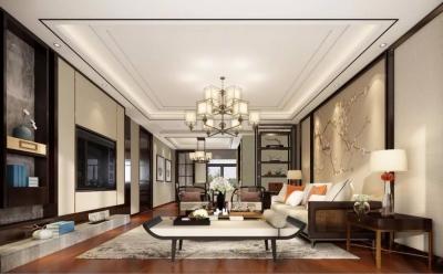 189㎡新中式风格家,横竖都是范!