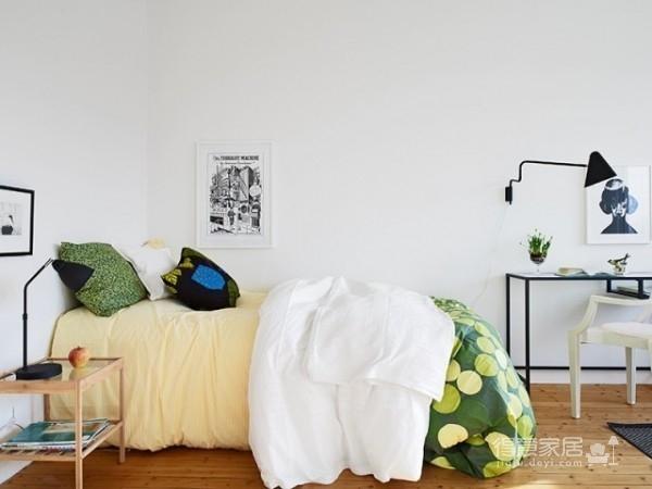 33平清新简约单身公寓