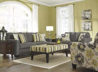 爱室丽美式布艺沙发