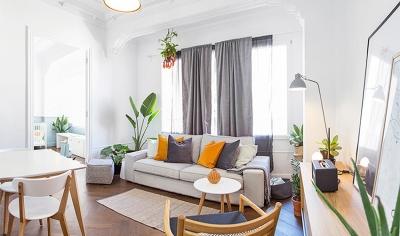 西班牙复古感公寓,调色明亮又清新!