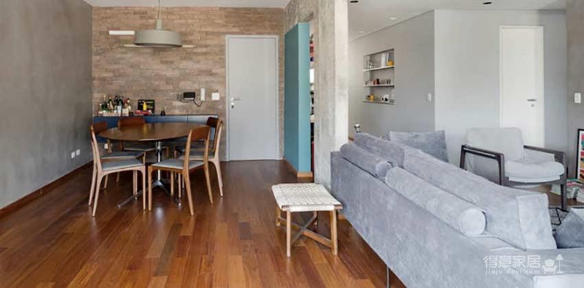 120平灰色简约现代风,家也能如此有气质!图_5