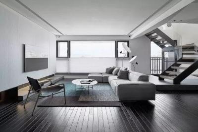 2室1厅80平米现代风格