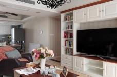 139平美式三居室,恬淡中的小清新!图_4