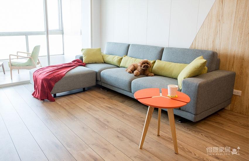 木质清新调的现代家,开发式厨房好棒!图_8