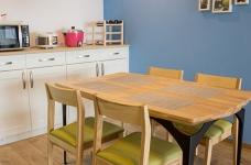 木质清新调的现代家,开发式厨房好棒!图_5