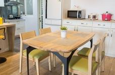 木质清新调的现代家,开发式厨房好棒!图_3