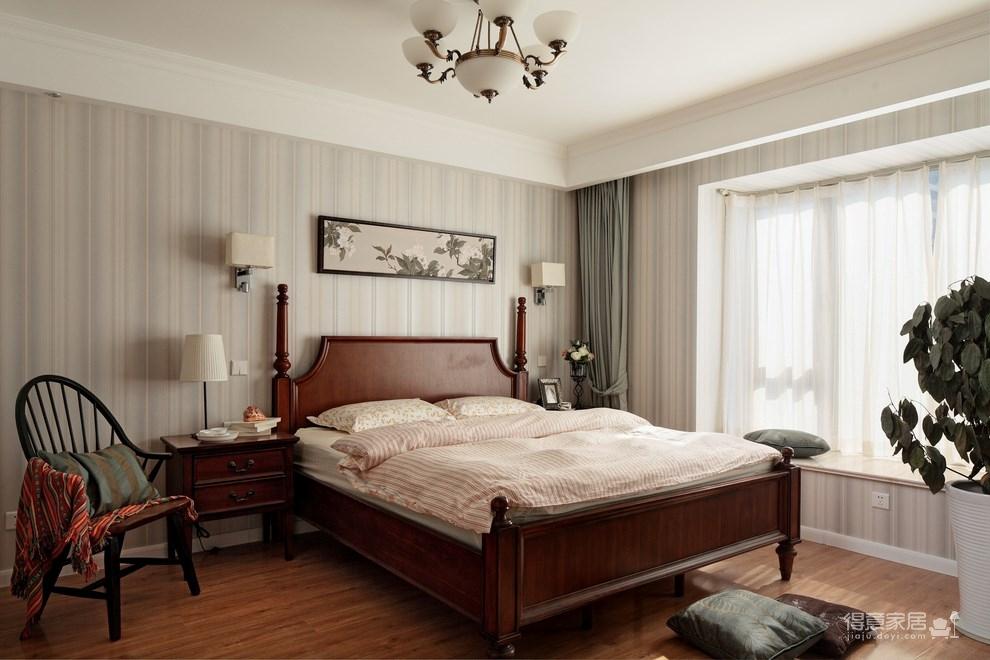 139平美式三居室,恬淡中的小清新!图_5