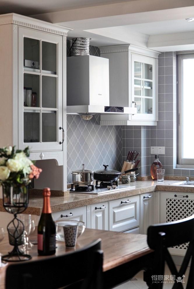 139平美式三居室,恬淡中的小清新!图_7