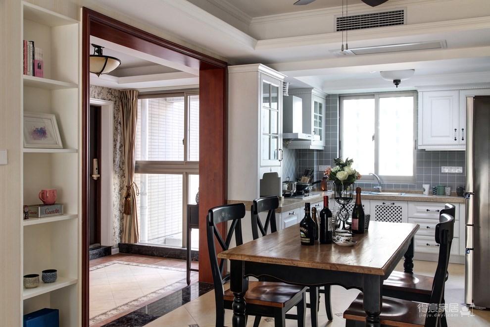139平美式三居室,恬淡中的小清新!图_6