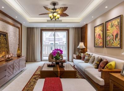 千禧城103.95平东南亚风格