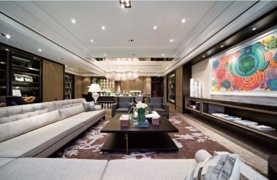 148平米现代风格三居室
