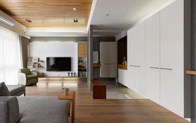 92平简约温润木质调的家