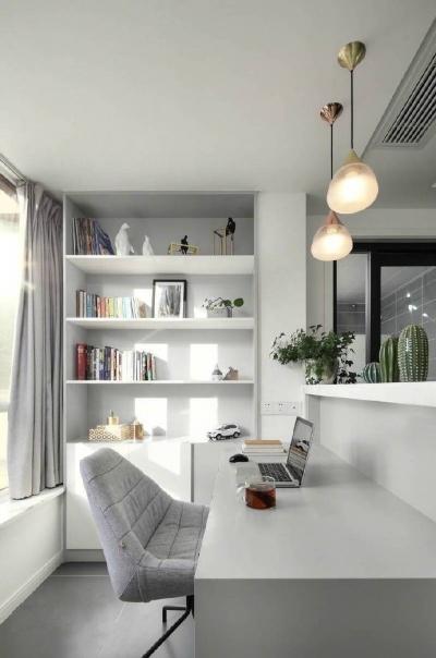 100㎡经典黑白灰现代简约,无处不体现对美好生活品质的追求! 