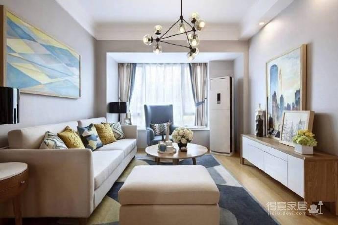 不一定非得做多少造型,原木色家具更显温馨! 图_2