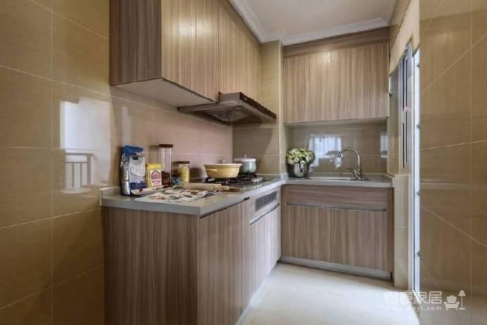 不一定非得做多少造型,原木色家具更显温馨! 图_5