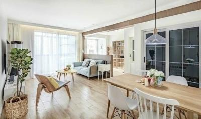 89㎡北欧风,清新明亮的空间使这个家更显舒适温馨! 