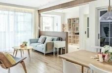 89㎡北欧风,清新明亮的空间使这个家更显舒适温馨! 图_1