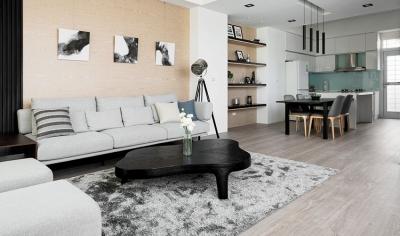 108平现代简约风,充满温度的家