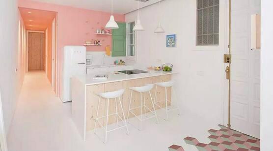 ●糖果色上墙,让你的家甜蜜起来