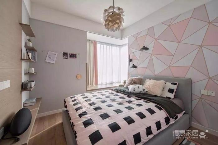 89m²的两室一厅竟如此少女清新脱俗!