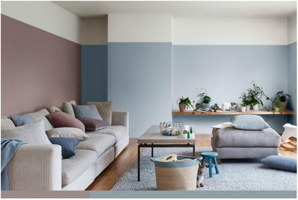"""●告别白墙,会让你的家增""""色""""很多"""