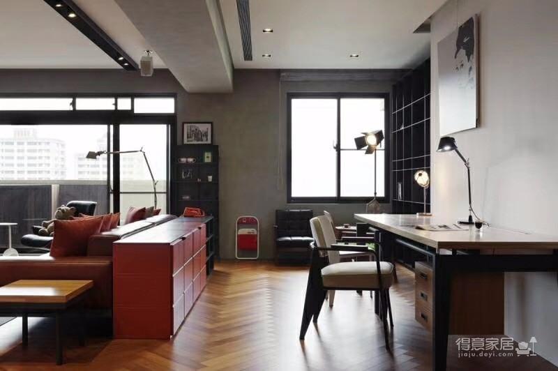 保利心语 88平方 个性化工业混搭公寓