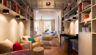暖色木质感的家!用灯光营造出的温暖,好心安