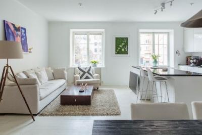 72平米,白色的明亮小家!