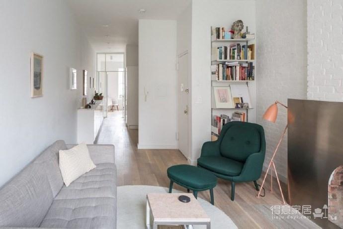 现代简约的新家,超有个性的不锈钢壁炉图_3