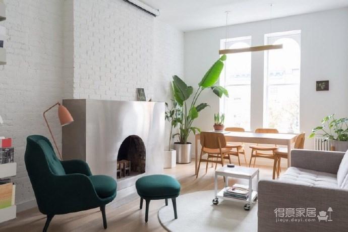 现代简约的新家,超有个性的不锈钢壁炉图_1
