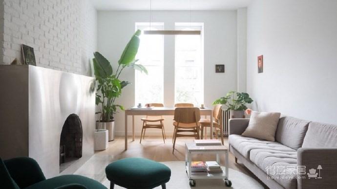 现代简约的新家,超有个性的不锈钢壁炉图_2