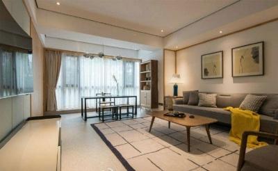 110平米三室日式简约,让人舒服的感觉!