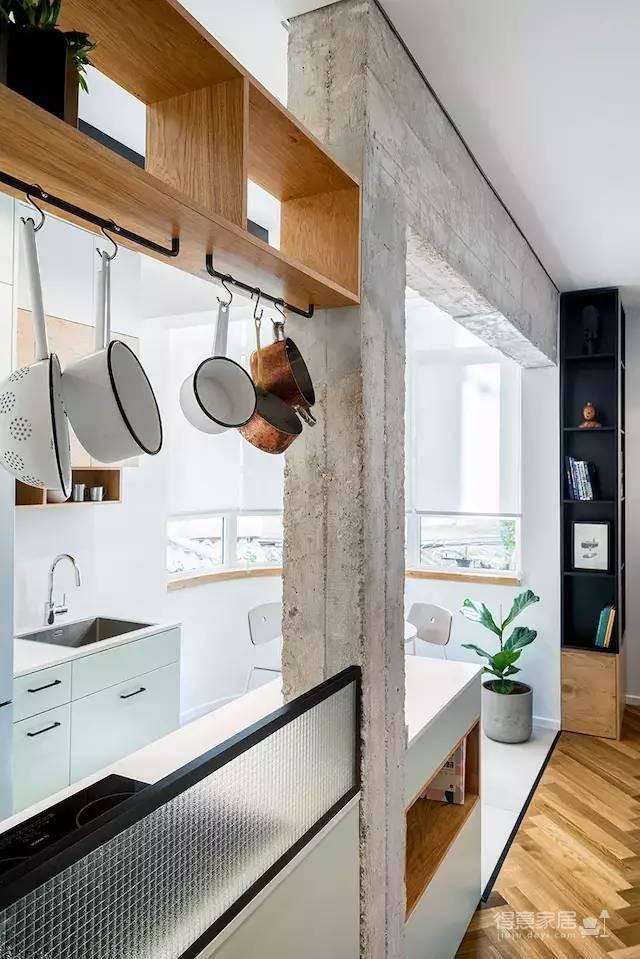 58㎡公寓如何同时满足工作与生活?!图_4